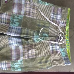 American eagle Live your life Swim trunks